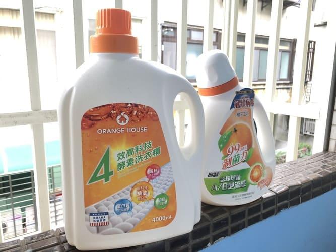 橘子工坊洗衣精