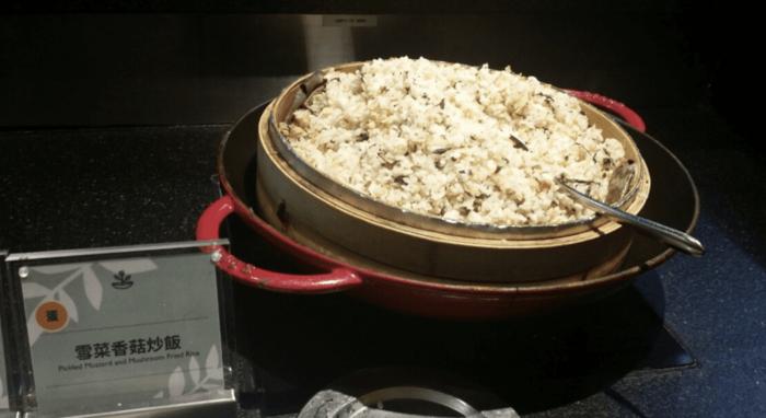 雪菜香菇炒飯