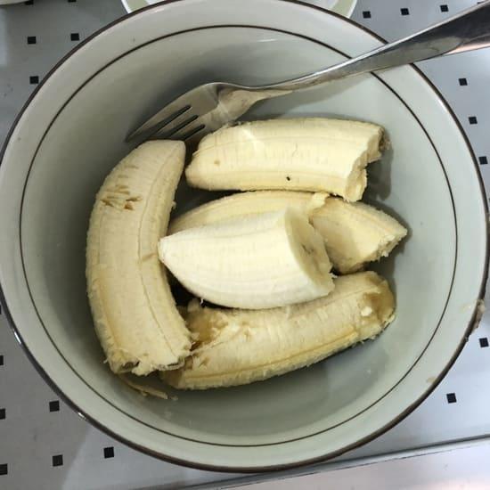 香蕉壓成泥