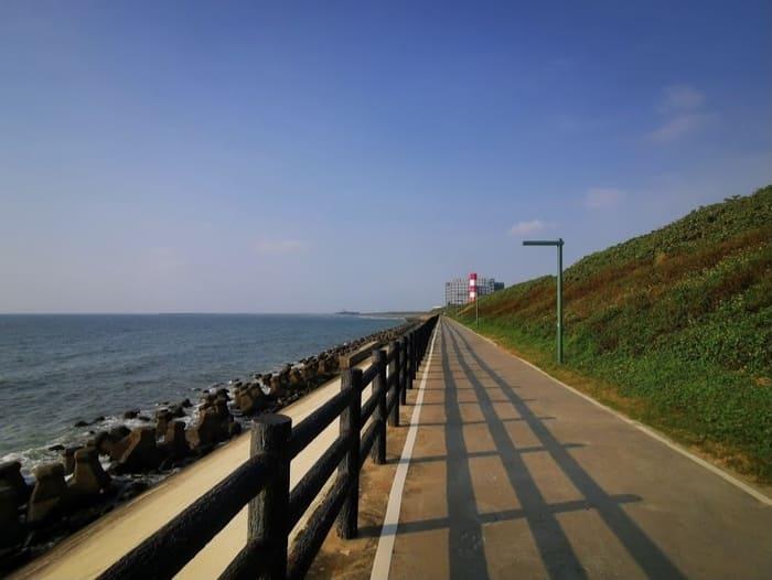 17公里海岸線