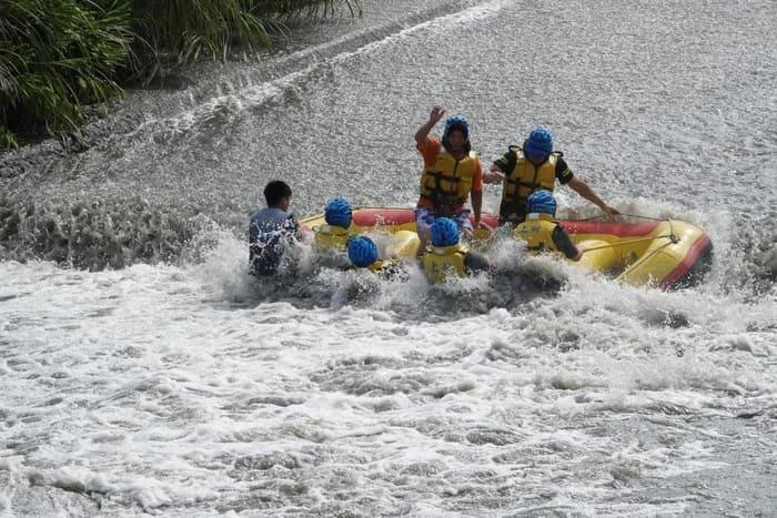 安農溪泛舟